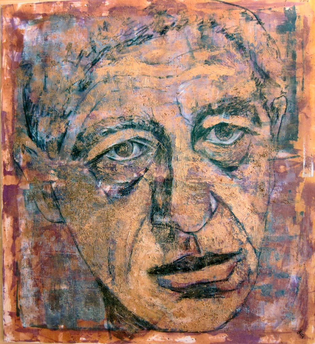 Porträt_Alberto Giacometti_120x120 cm_verk.