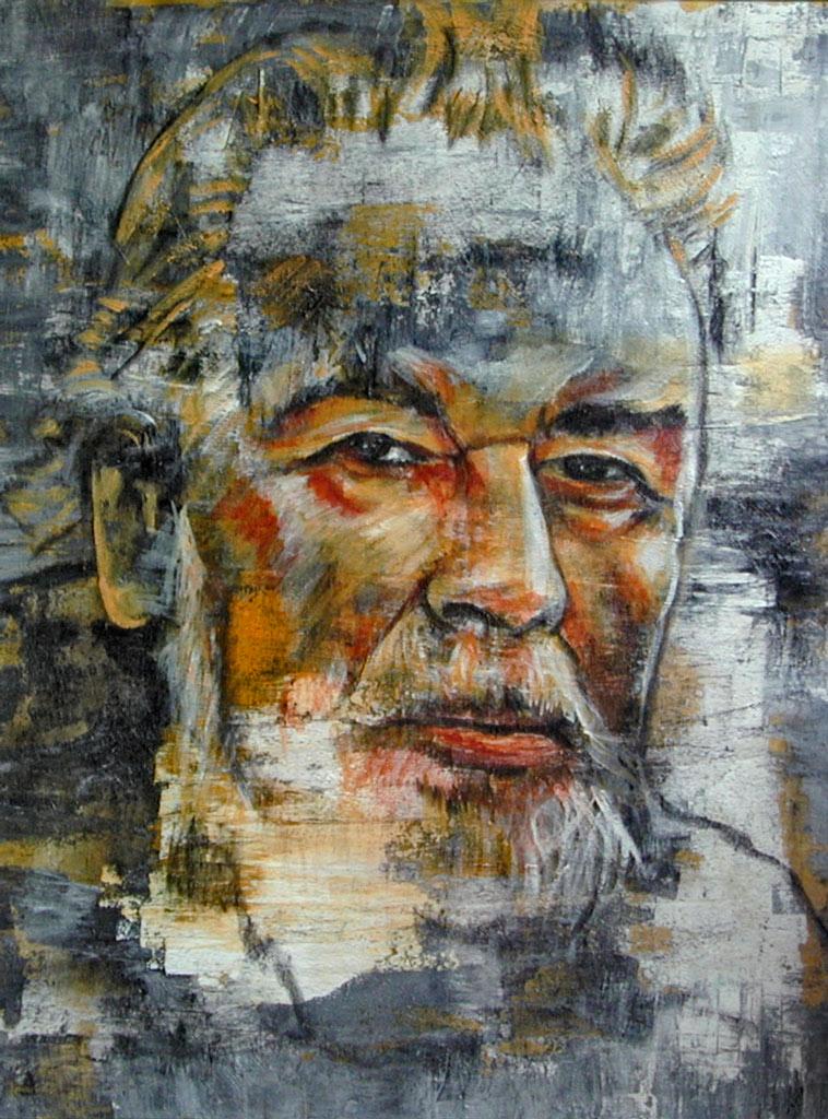 Porträt_Bernhard Wicky-70x90 cm