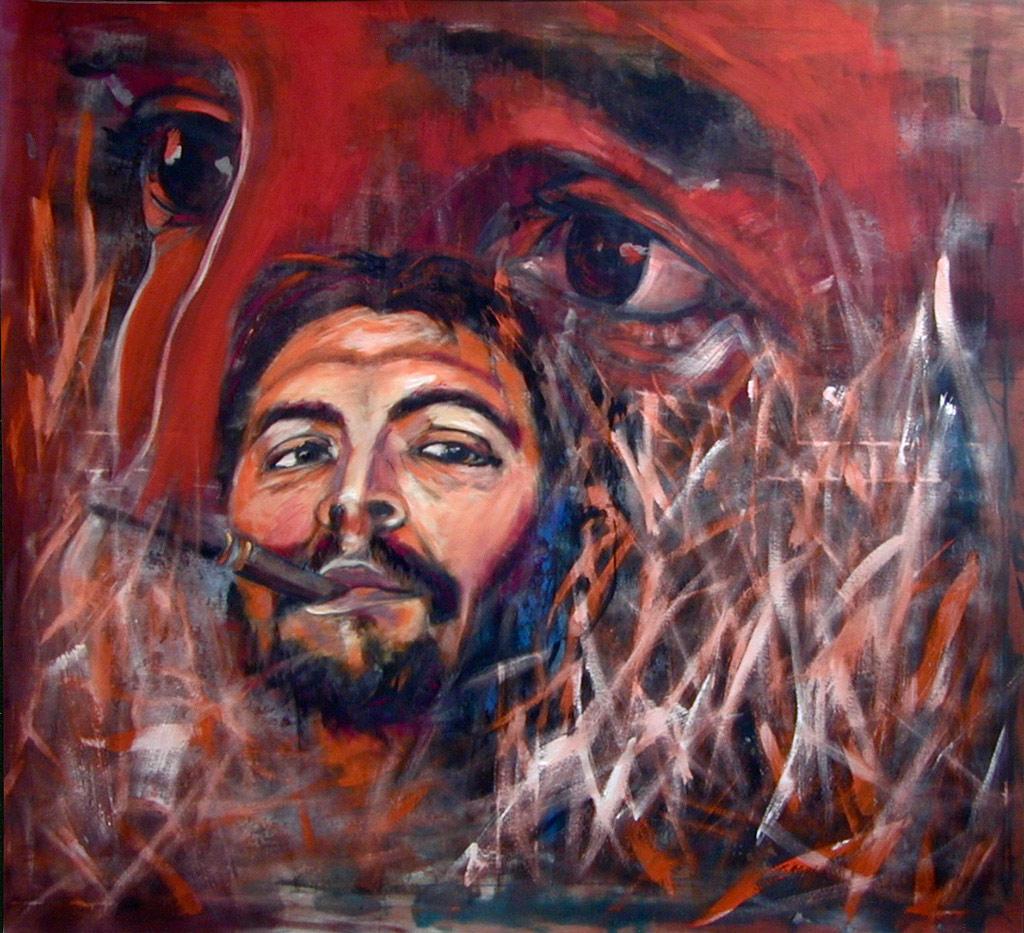 Composing_Porträt_Che_Guevara