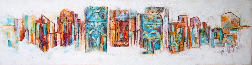 Abstrakt Urban_150x50cm